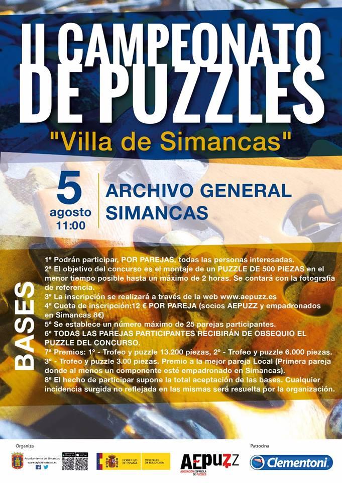 CAMPEONATO DE PUZZLES VILLA DE SIMANCA
