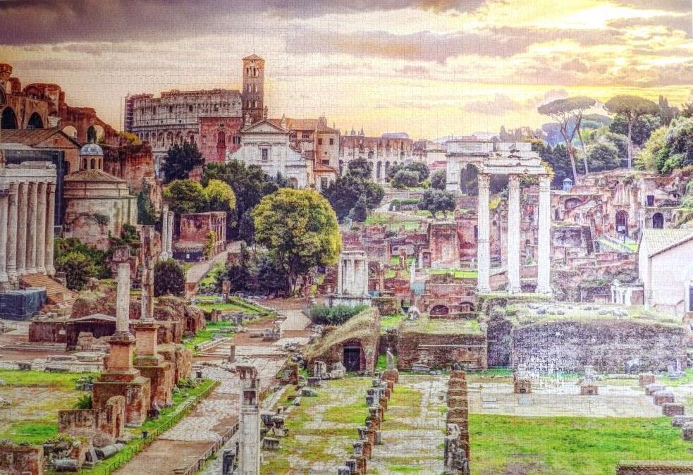 Jumbo Forum Romanum Rome Premium Jigsaw Puzzle 5000 Pieces