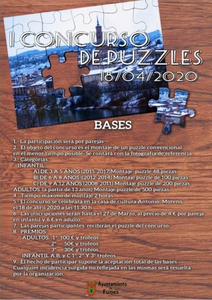 I Concurso de Puzzles de Funes