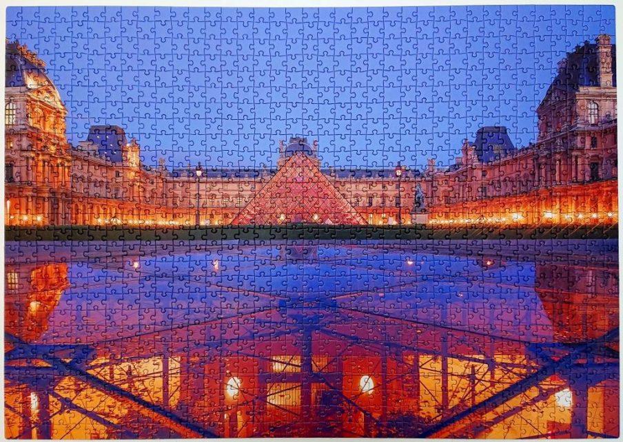 Clementoni - Louvre - 1000 pieces