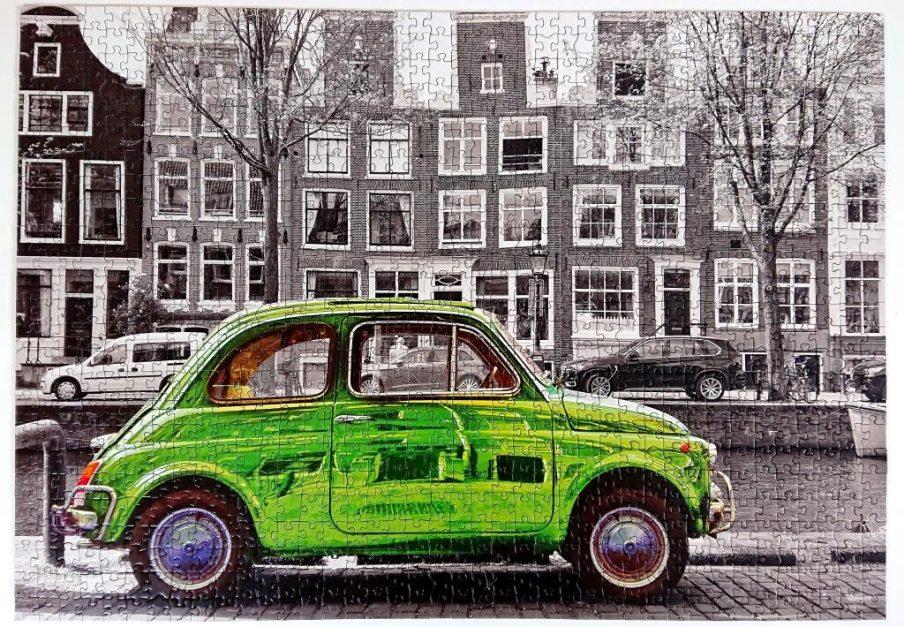 Educa Puzzle - 18000 - Coche en Amsterdam - 1000 piezas