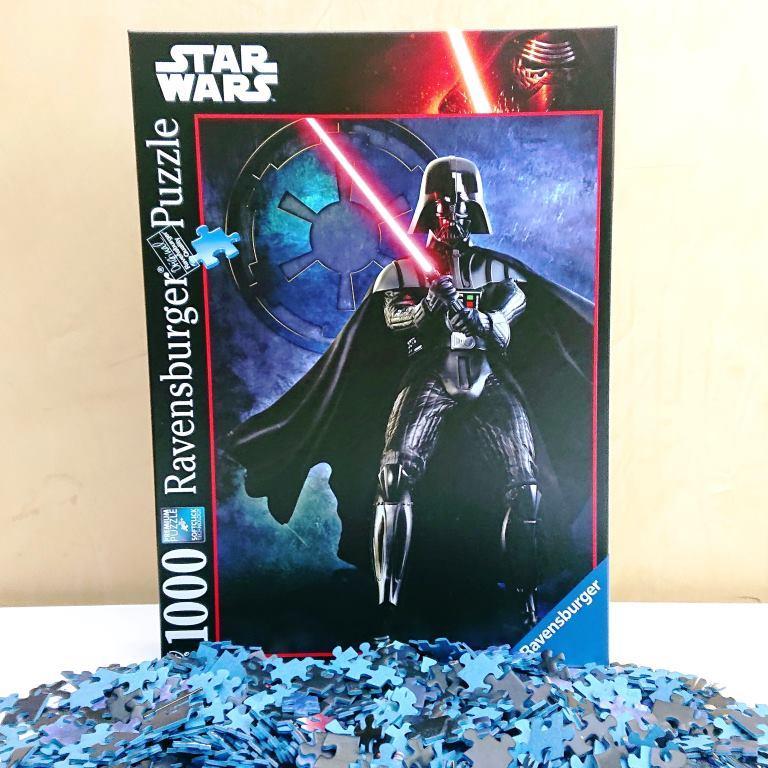 Ravensburger Puzzle - 196791 - Star Wars Darth Vader - 1000 piezas