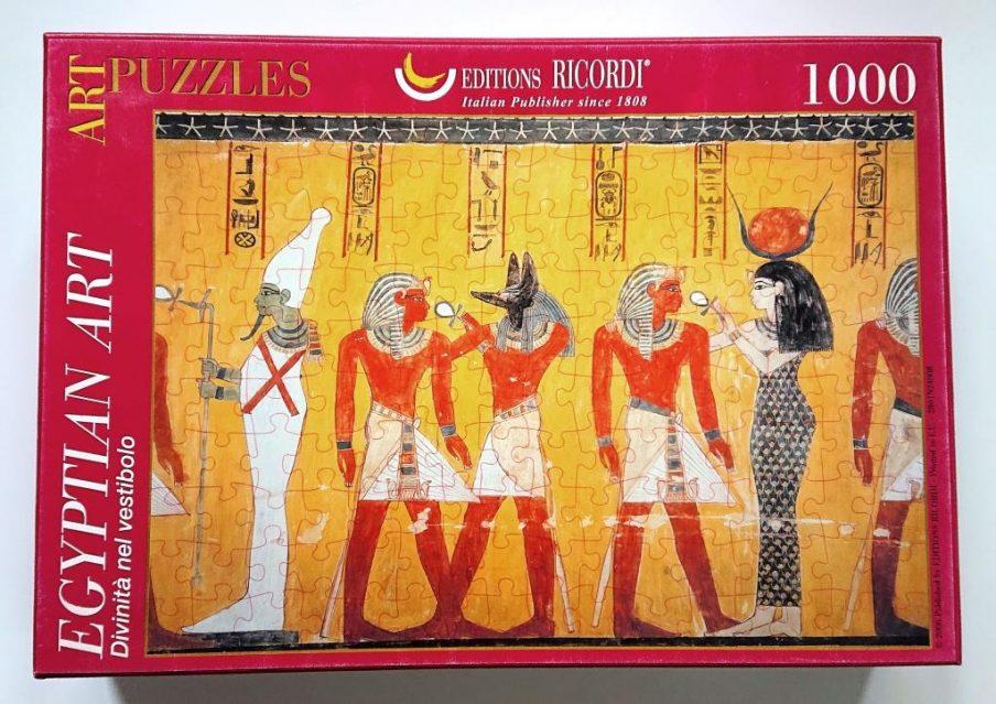 Ricordi Puzzle - 2801N24008 - Divinita nel vestibolo - 1000 pieces