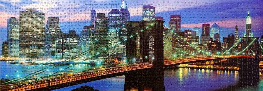 Educa Puzzle - 14456 - Puente de Brooklyn, Nueva York - 1000 piezas